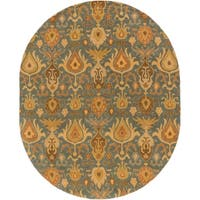 Hand Tufted Forsyth Wool Area Rug (8' x 10' Oval)