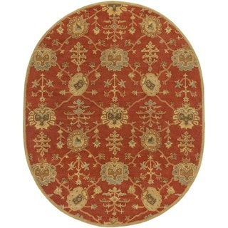 Hand Tufted Foster Wool Rug (8' x 10' Oval)