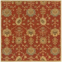 Hand Tufted Foster Wool Area Rug