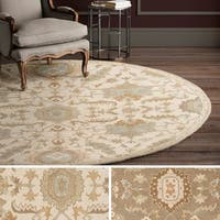 Hand Tufted Fosse Wool Area Rug - 8' x 8'