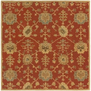 Hand Tufted Foster Wool Rug 6 Square