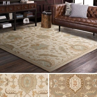 Hand Tufted Fosse Wool Rug (4' Square)