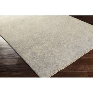 Hand Knotted Franc New Zealand Wool Rug (2' x 3')