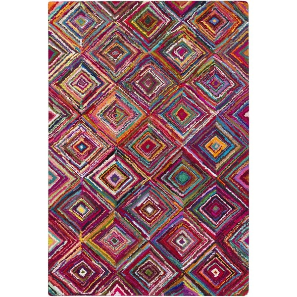 Hand Hooked Fontenelle Cotton/Polyester Rug (2' x 3')