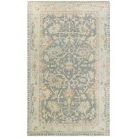 Hand Knotted Goodwin Wool Area Rug - 9' x 13'