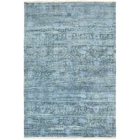 Hand Knotted Fowler Wool Area Rug (9' x 13')