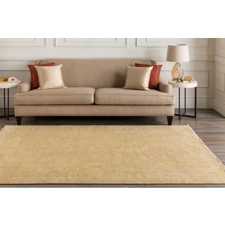 Hand Knotted Flickinger New Zealand Wool Rug (9' x 13')