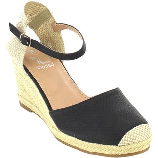 Beston FA68 Women's Espadrille Wedges