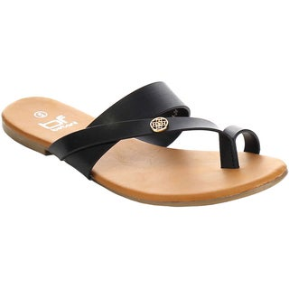 Beston FA70 Women's Toe-Ring Flip Flop Sandals