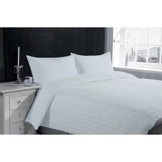 Hotel Collection Stripe 300TC Cotton 3-piece Sheet Set Duvet Cover and Pillow Case Set