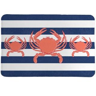 Crab Trio Memory Foam Rug