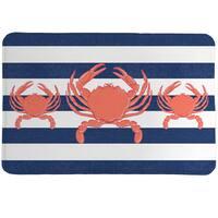 Crab Trio Memory Foam Rug - 20 x 30
