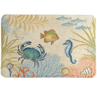 Sea Creatures Memory Foam Rug