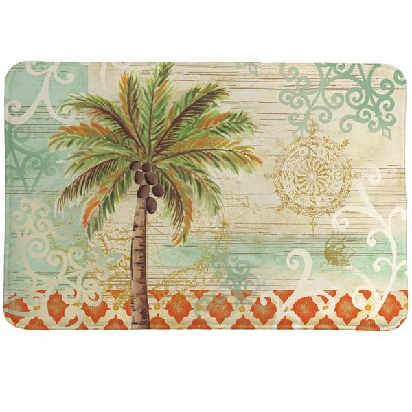 Vintage Palm Memory Foam Rug