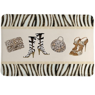 Animal Print Couture Memory Foam Rug
