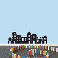 Little City Wall Decal (47 x 15)