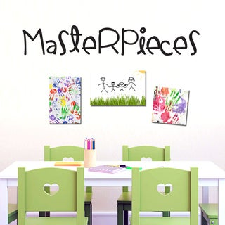 Masterpieces Wall Decal (36 x 6)