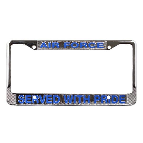 US Air Force Veteran License Plate Frame