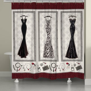 Merlot Fashion Shower Curtain