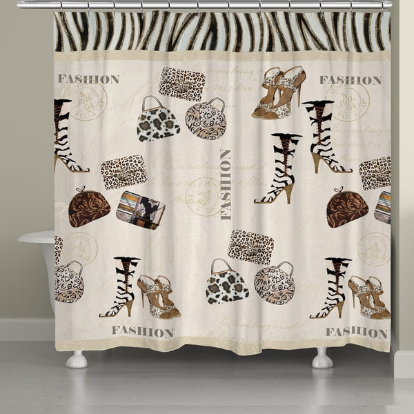 Animal Print Couture Shower Curtain
