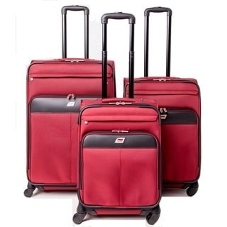 Andare Milan 3-piece Expandable Spinner Luggage Set