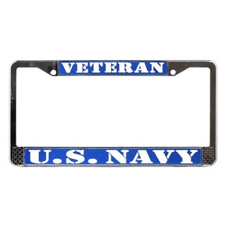 US Navy Veteran License Plate Frame