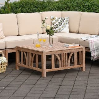 Teak Outdoor Coffee & Side Tables For Less | Overstock