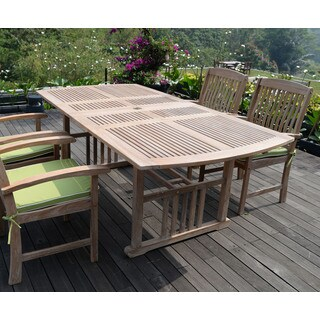 Cambridge Casual Monterey Teak Extendable Dining Table