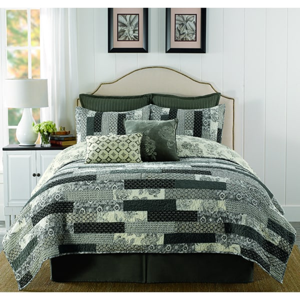 Eleora Velvet Cotton Twin-size Quilt