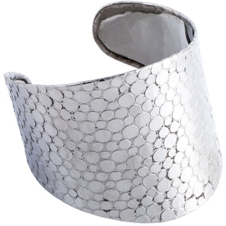 Decorative Nulicolored Wide Cuff
