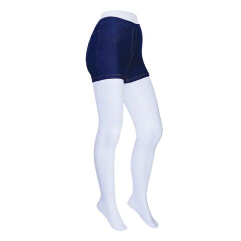 Memoi Women's Denim Boy Shorts