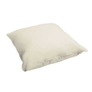 Sloane Ivory 26-inch Indoor/ Outdoor Corded Floor Pillow