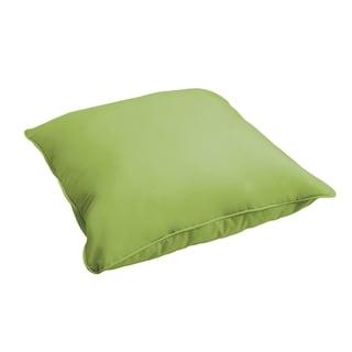 Sloane Apple Green 26-inch Indoor/ Outdoor Corded Floor Pillow