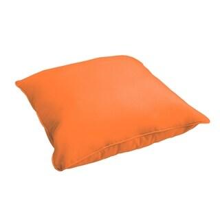 Sloane Bright Orange 26-inch Indoor/ Outdoor Corded Floor Pillow