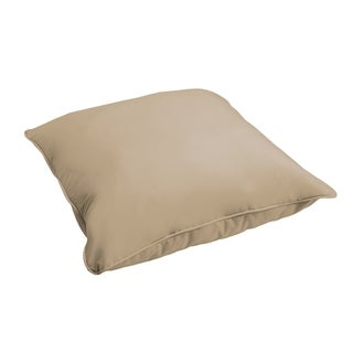 Sloane Beige 26-inch Indoor/ Outdoor Corded Floor Pillow