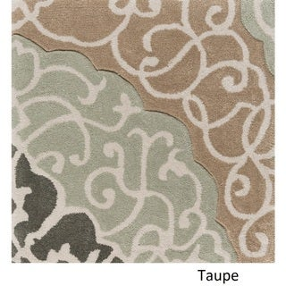Hand Tufted Halsted Polyester Rug (3'6 x 5'6)
