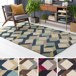 Hand Tufted GreeceCrete Polyester Rug (5' x 8')