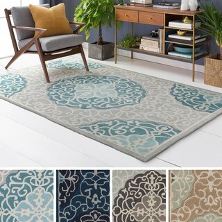 Hand Tufted Halsted Polyester Rug (5' x 8')