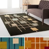 Palm Canyon Clarke Hand Tufted Wool Area Rug - 6' x 9'