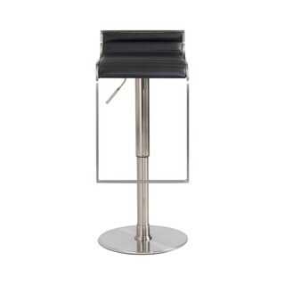 Forest Black/ Satin Nickel Bar/ Counter Stool