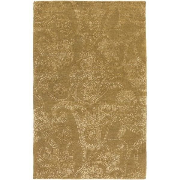 Hand Tufted Haight Wool/Viscose Area Rug - 2' x 3'