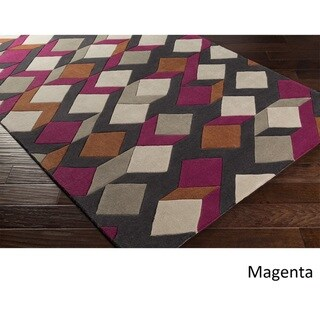 Hand Tufted GreeceCrete Polyester Rug (8' x 11')