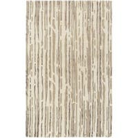 Hand Tufted Hafeet Wool/Viscose Area Rug