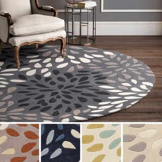 Hand Tufted Gish Polyester Rug (8' Round)