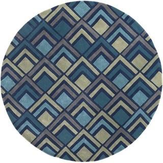 Hand Tufted Glenwood Polyester Rug (8' Round)