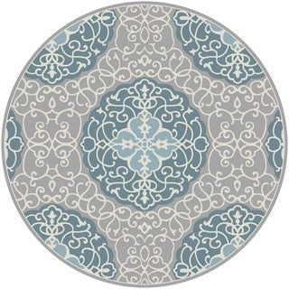 Hand Tufted Halsted Polyester Rug (8' Round)