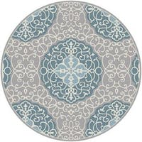 Hand Tufted Halsted Area Rug - 8' x 8'