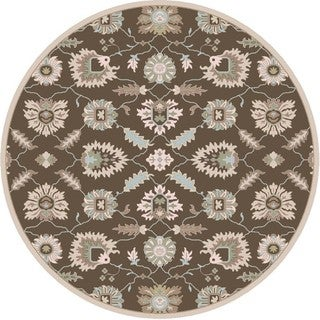 Hand Tufted Guoliang Wool Rug (4' Round)