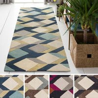 Palm Canyon Antonio Hand-tufted Greece Runner Rug - 2'6 x 8'