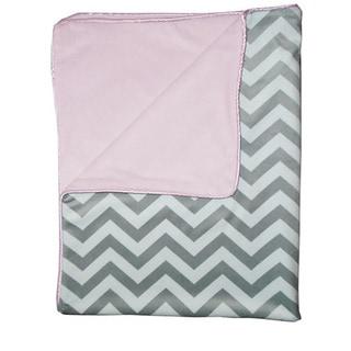 Minky Chevron Baby Blanket